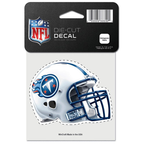 Tennessee Titans Full Color Car Window Sticker Decal 4x4 Inches
