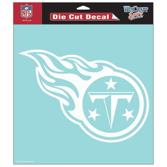 Tennessee Titans Car Window Sticker Decal 8x8 Inches