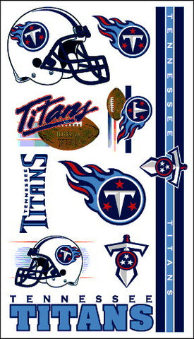 Tennessee Titans Temporary Tattoo
