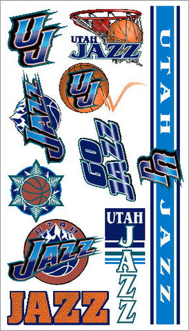 Utah Jazz Temporary Tattoo