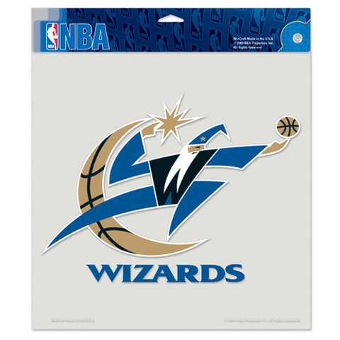 Washington Wizards Full Color Car Window Sticker Decal 8x8 Inches
