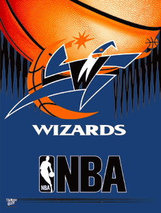 Washington Wizards Vertical Flag Banner
