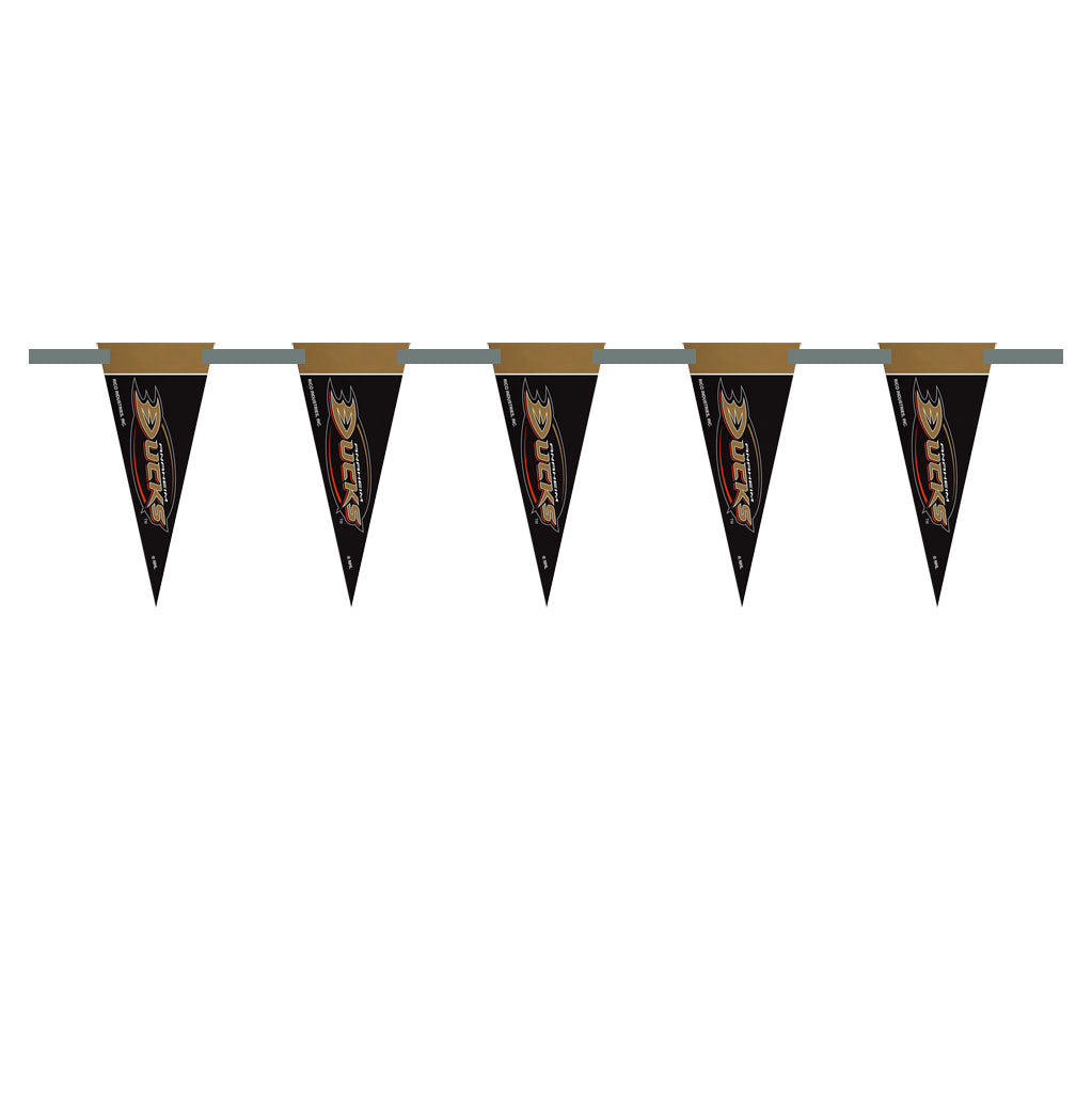 Anaheim Ducks 3 Foot Pennant String