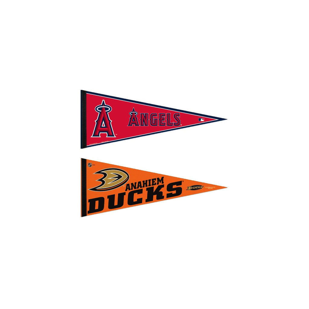 Anaheim / Los Angeles Pennants: Hometown Collection 2 Pennants