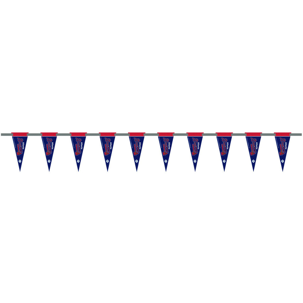 Atlanta Braves 6 Foot Pennant String