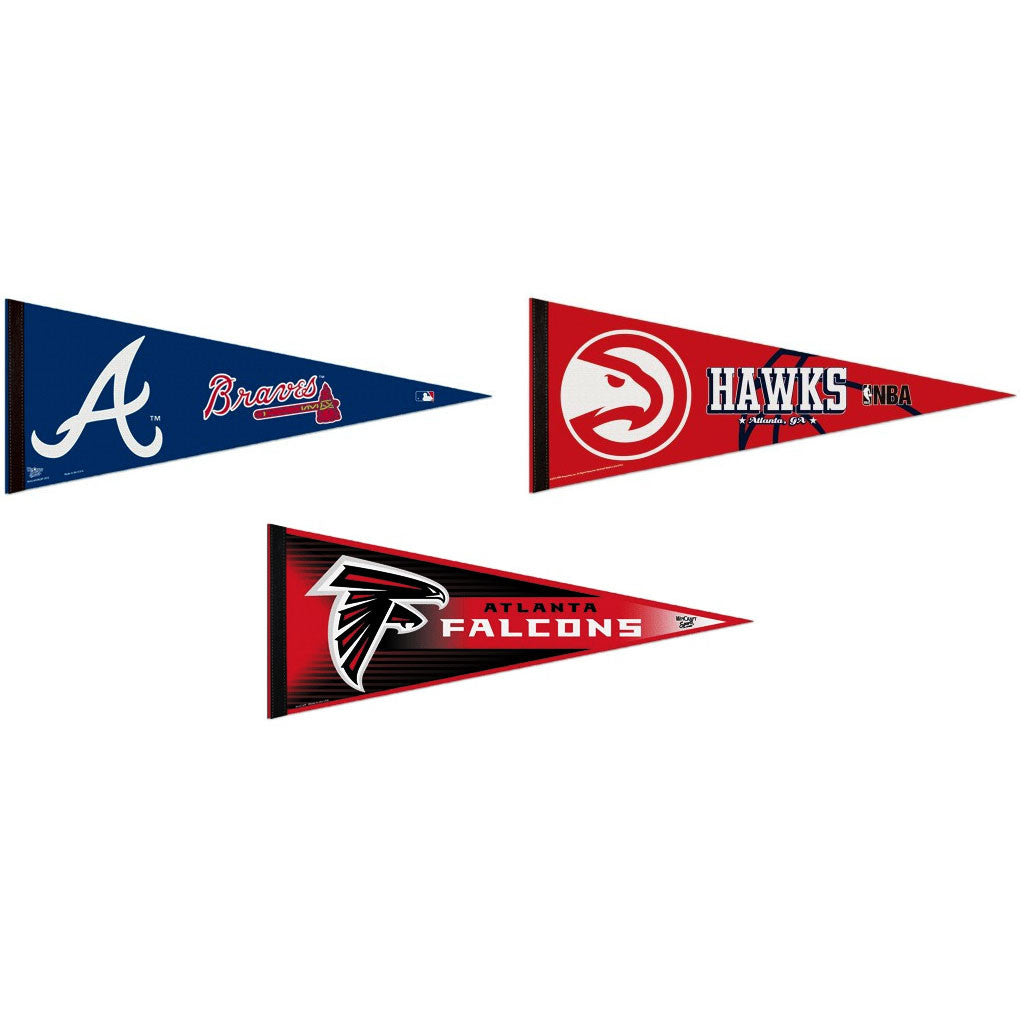 Atlanta Pennants: Hometown Collection 3 Pennants