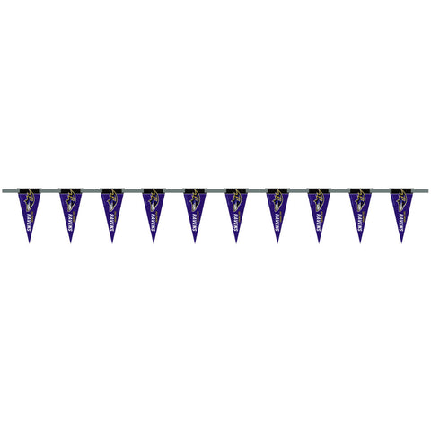 Baltimore Ravens 6 Foot Pennant String