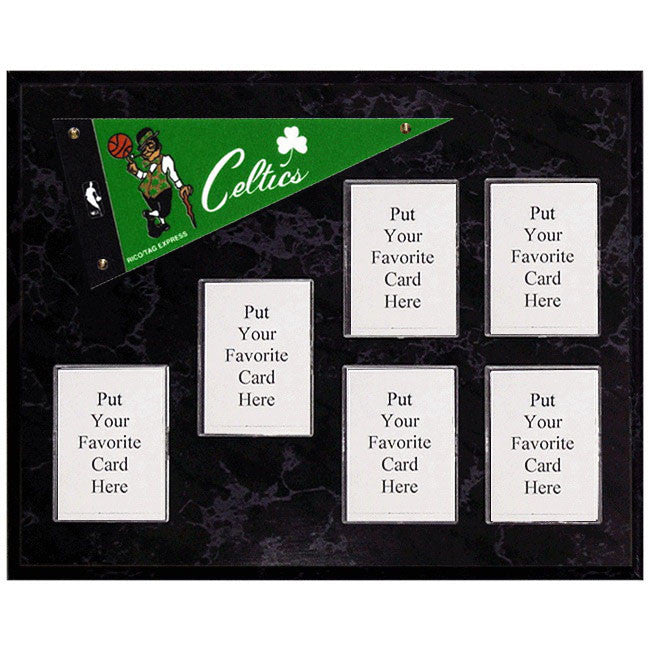 Boston Celtics Mini Pennant Plaque