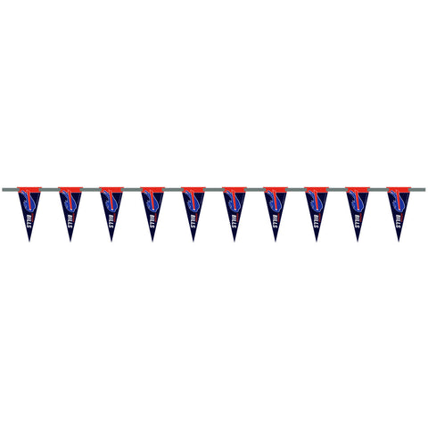 Buffalo Bills 6 Foot Pennant String