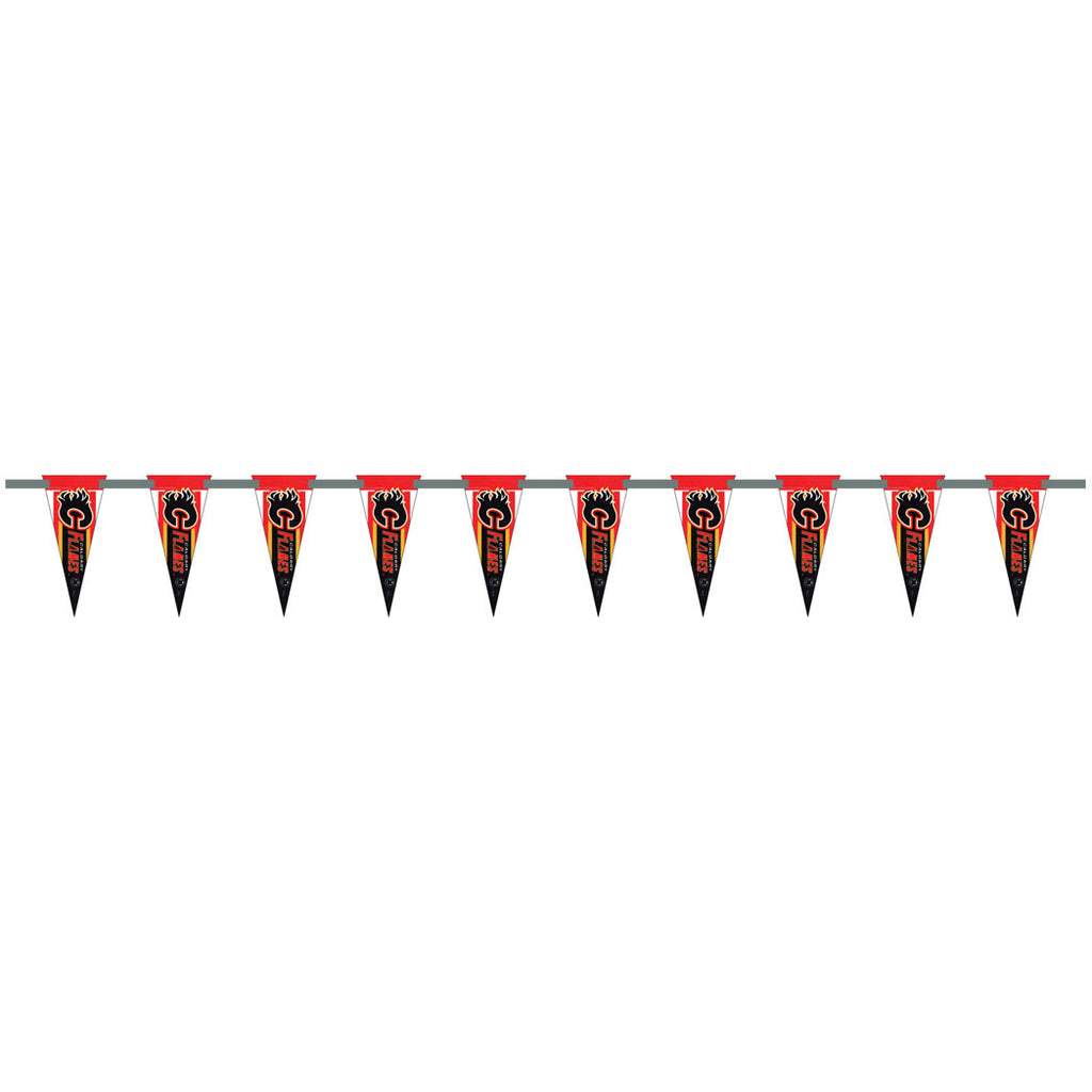 Calgary Flames 6 Foot Pennant String