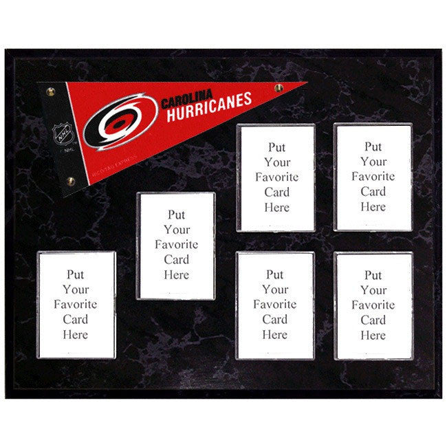 Carolina Hurricanes Mini Pennant Plaque