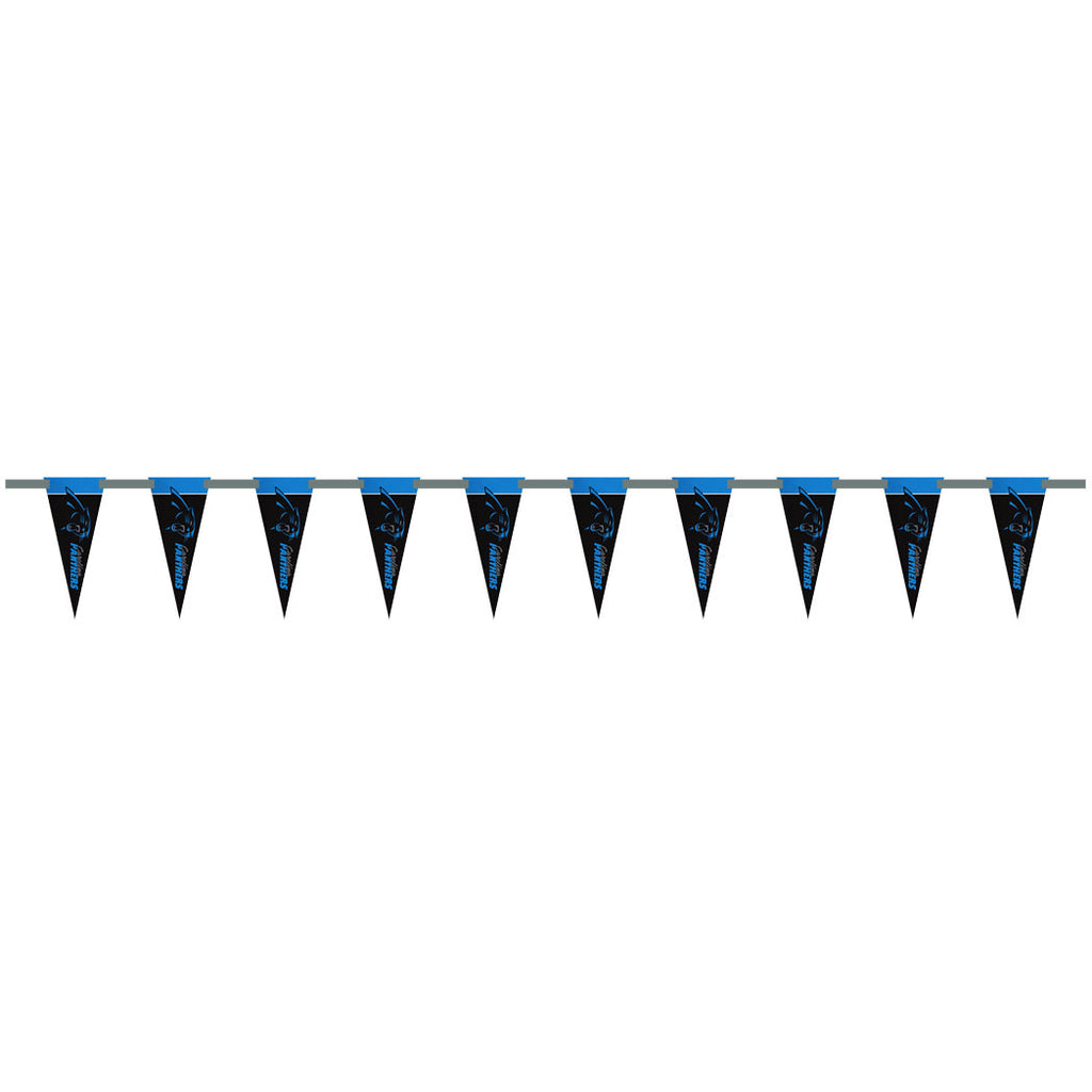 Carolina Panthers 6 Foot Pennant String