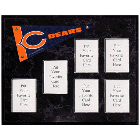 Chicago Bears Mini Pennant Plaque