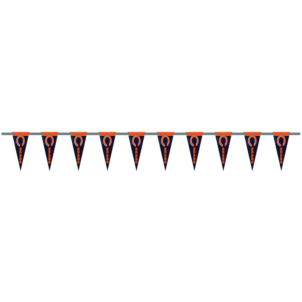 Chicago Bears 6 Foot Pennant String