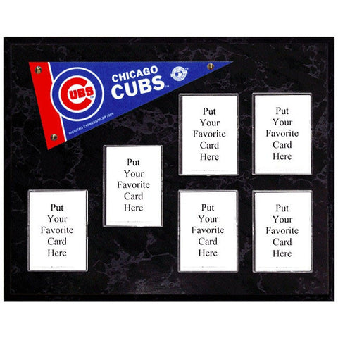 Chicago Cubs Mini Pennant Plaque