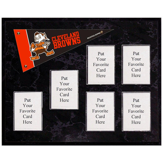 Cleveland Browns Mini Pennant Plaque