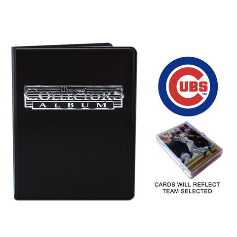 Chicago Cubs Baseball Cards w/ Collector's Mini Binder & Pages