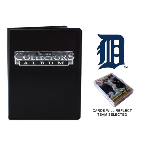 Detroit Tigers Baseball Cards w/ Collector's Mini Binder & Pages