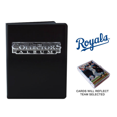 Kansas City Royals Baseball Cards w/ Collector's Mini Binder & Pages