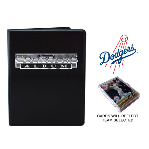 Los Angeles Dodgers Baseball Cards w/ Collector's Mini Binder & Pages