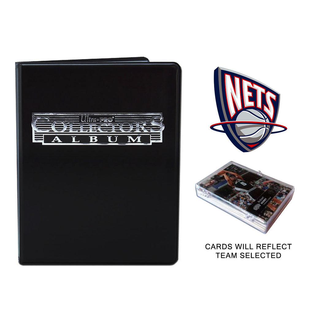 New Jersey Nets Basketball Cards w/ Collector's Mini Binder & Pages