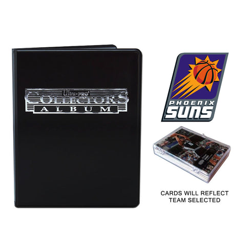 Phoenix Suns Basketball Cards w/ Collector's Mini Binder & Pages