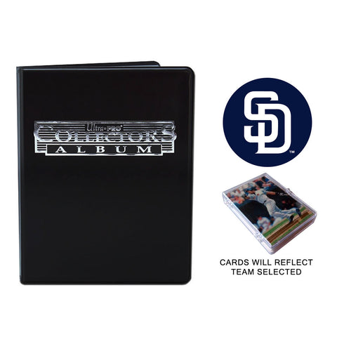 San Diego Padres Baseball Cards w/ Collector's Mini Binder & Pages