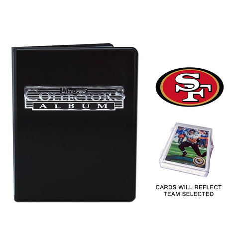 San Francisco 49ers Football Cards w/ Collector's Mini Binder & Pages