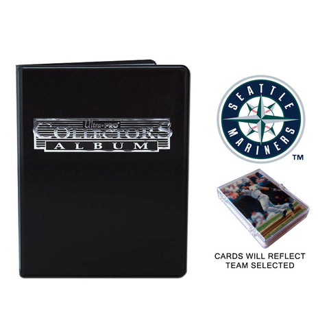 Seattle Mariners Baseball Cards w/ Collector's Mini Binder & Pages