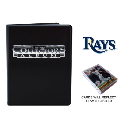 Tampa Bay Rays Baseball Cards w/ Collector's Mini Binder & Pages