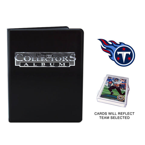 Tennessee Titans Football Cards w/ Collector's Mini Binder & Pages