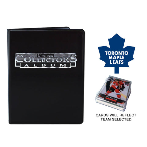 Toronto Maple Leafs Hockey Cards w/ Collector's Mini Binder & Pages