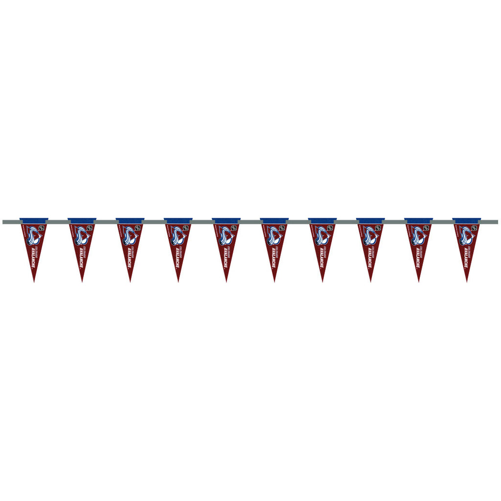 Colorado Avalanche 6 Foot Pennant String