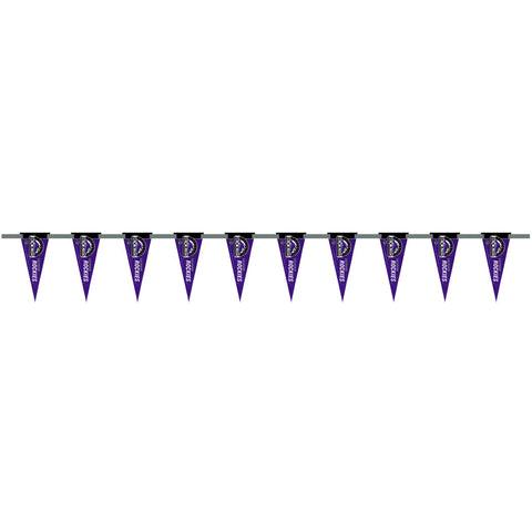 Colorado Rockies 6 Foot Pennant String