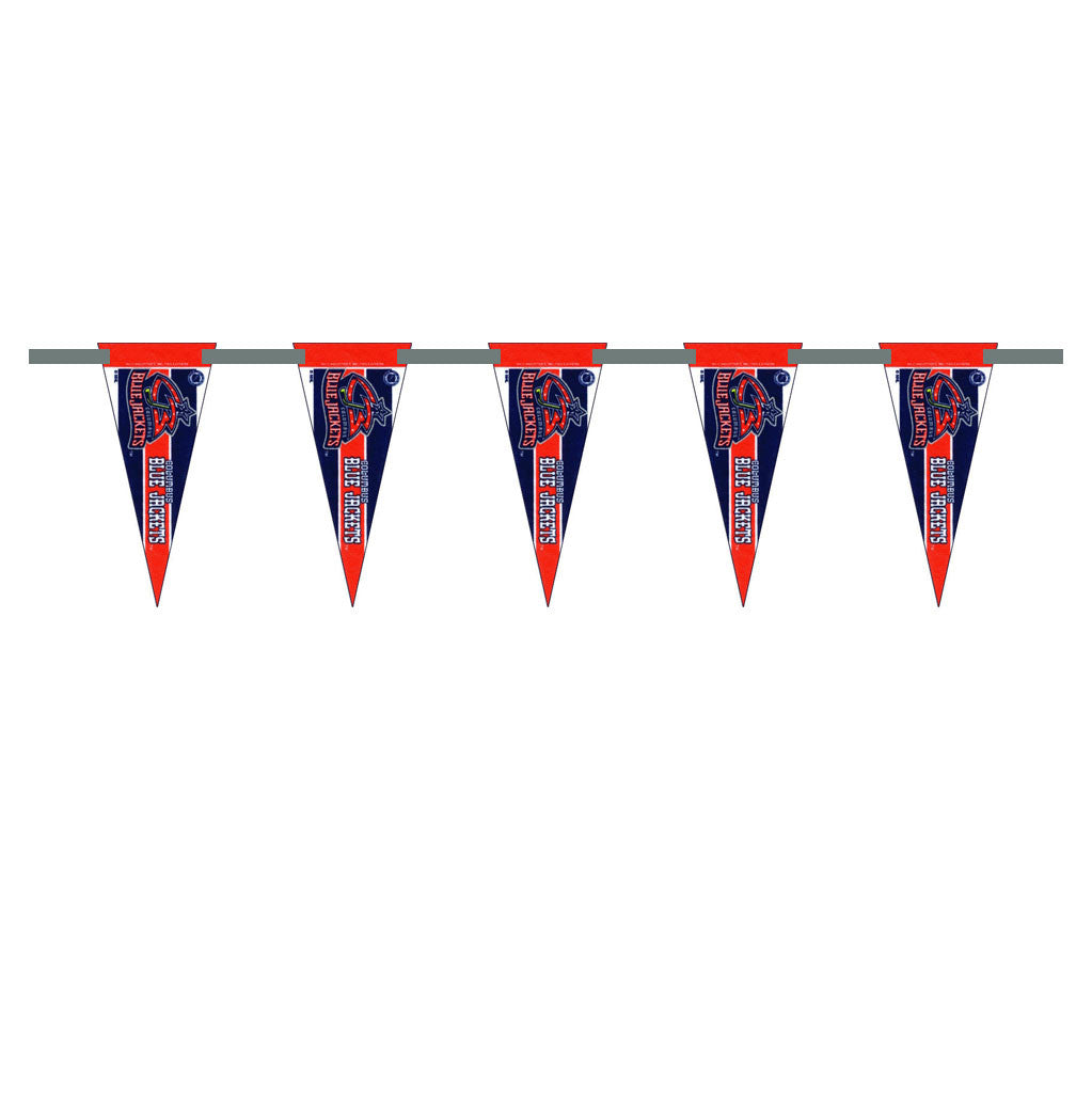 Columbus Blue Jackets 3 Foot Pennant String