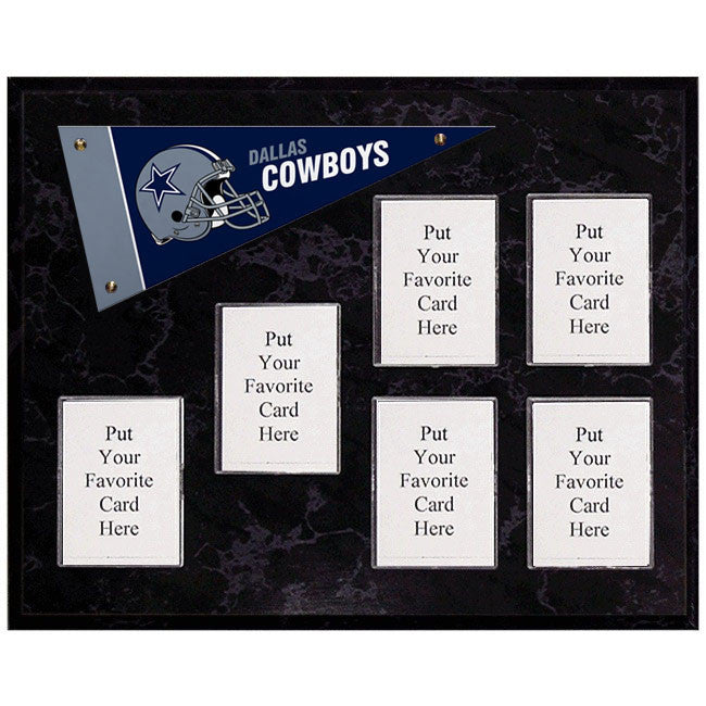 Dallas Cowboys Mini Pennant Plaque