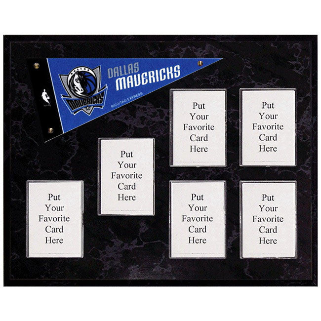 Dallas Mavericks Mini Pennant Plaque