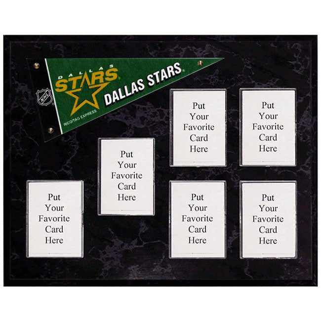 Dallas Stars Mini Pennant Plaque