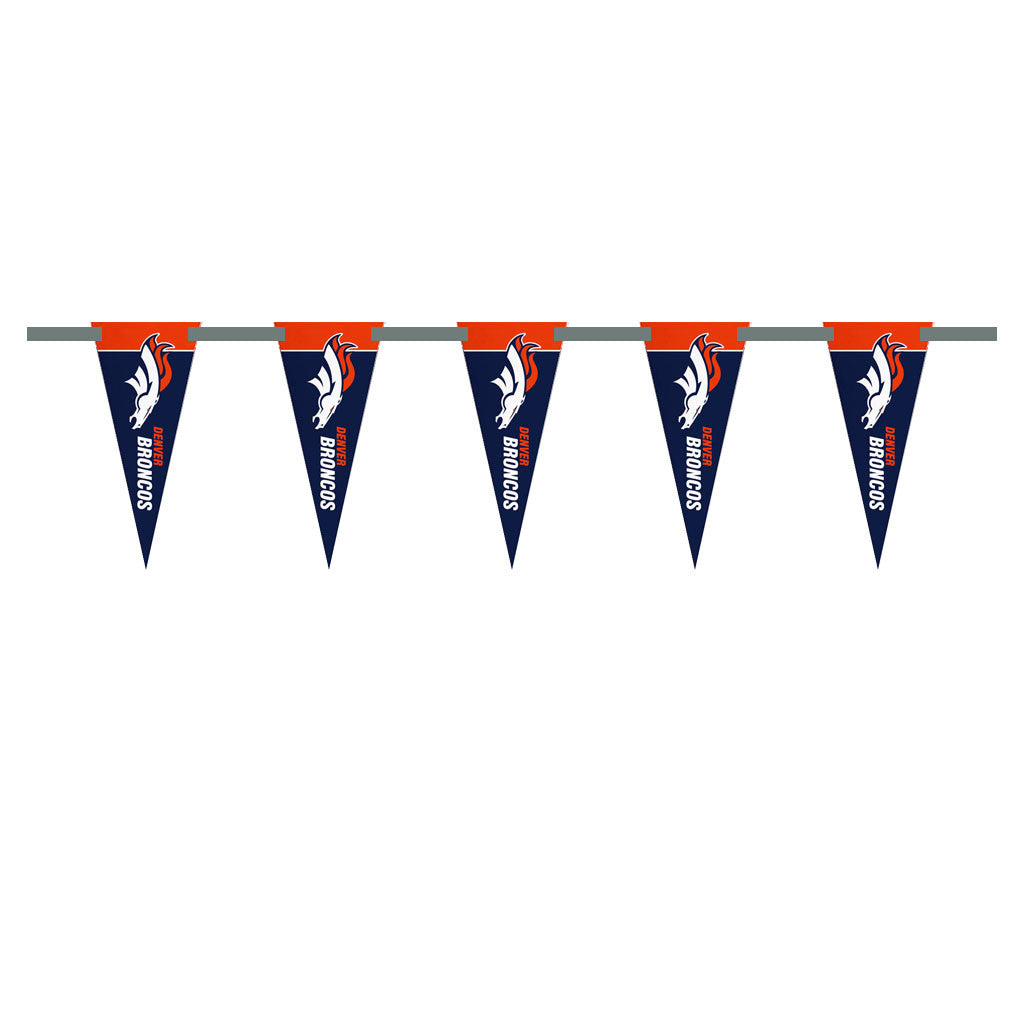 Denver Broncos 3 Foot Pennant String