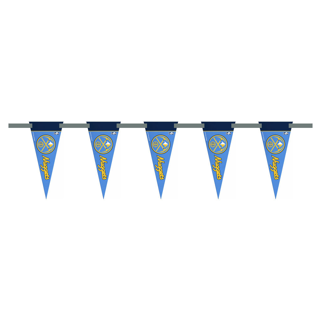 Denver Nuggets 3 Foot Pennant String