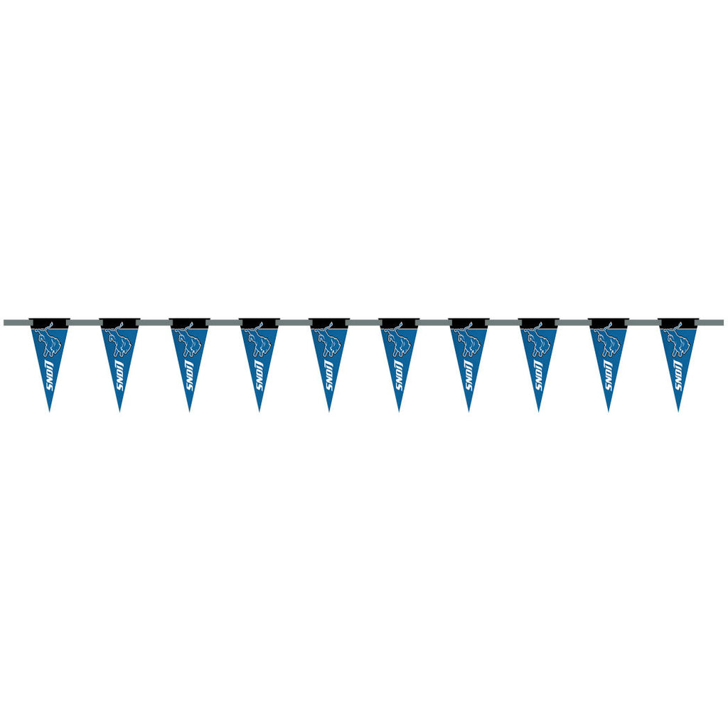 Detroit Lions 6 Foot Pennant String