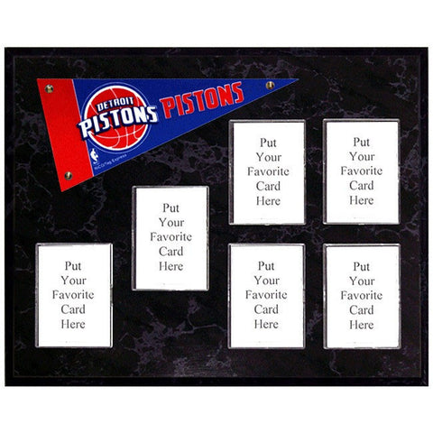 Detroit Pistons Mini Pennant Plaque