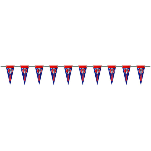 Detroit Pistons 6 Foot Pennant String