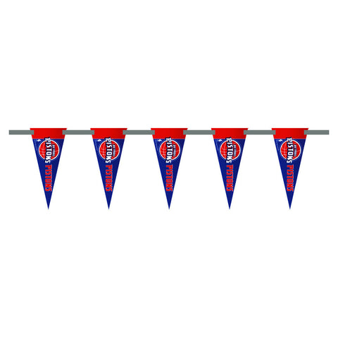Detroit Pistons 3 Foot Pennant String