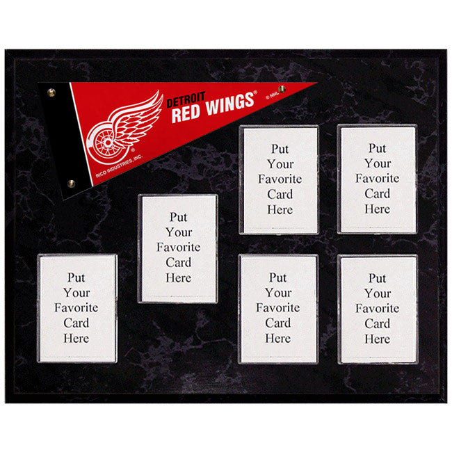 Detroit Red Wings Mini Pennant Plaque