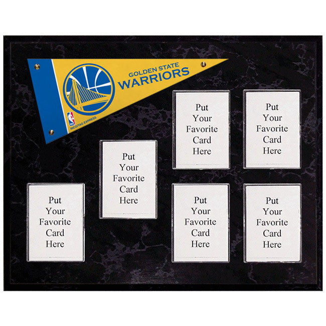 Golden State Warriors Mini Pennant Plaque