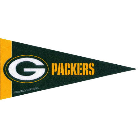 Green Bay Packers Mini Pennant (2-Pack)