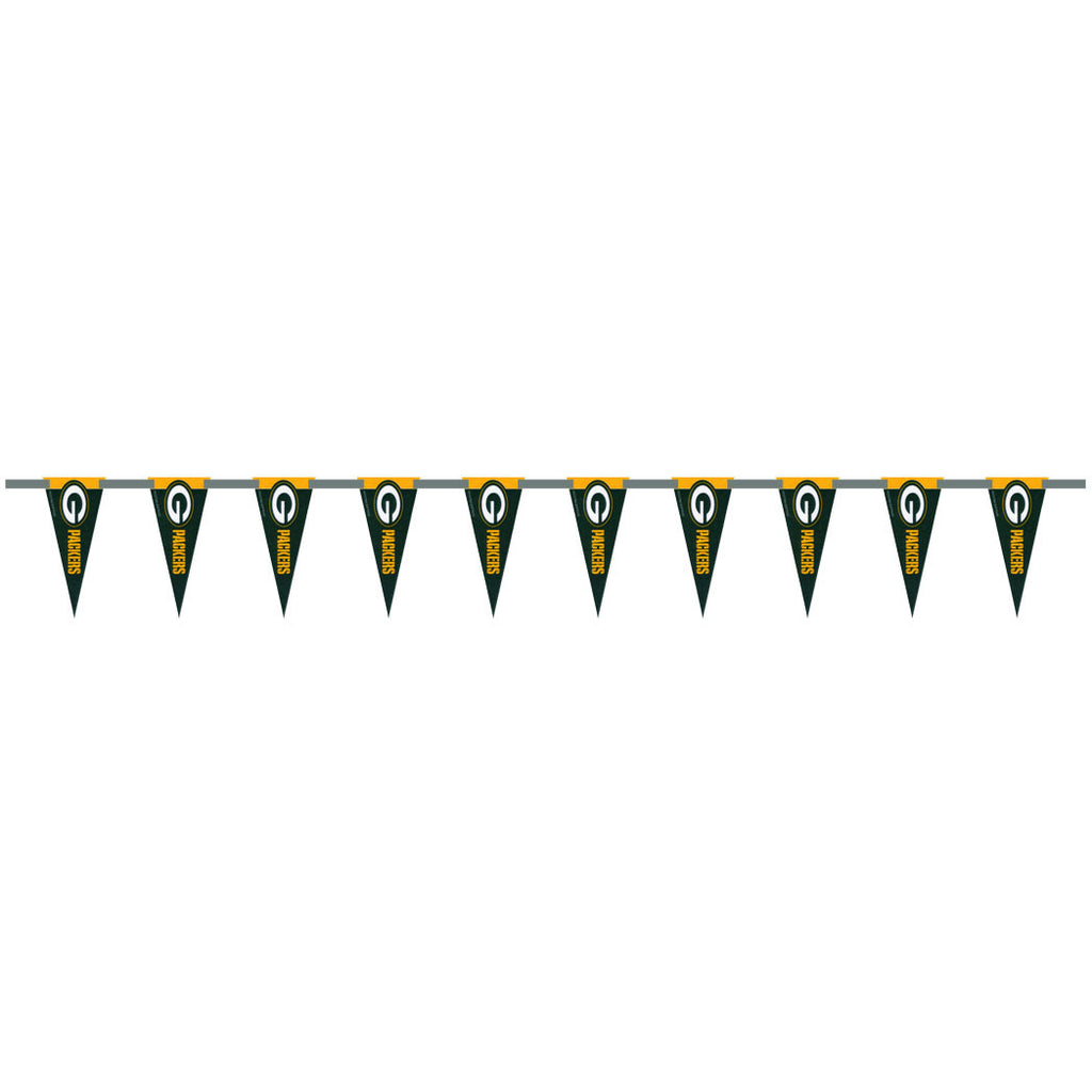 Green Bay Packers 6 Foot Pennant String