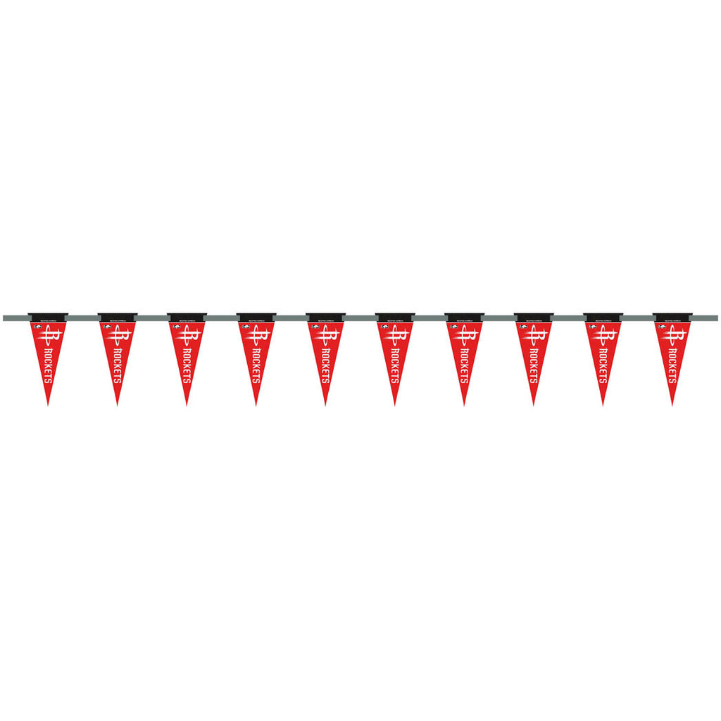 Houston Rockets 6 Foot Pennant String