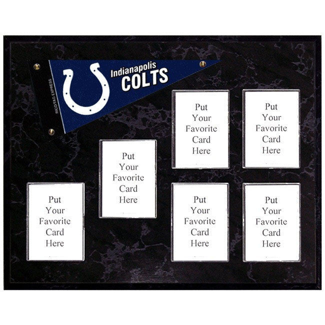 Indianapolis Colts Mini Pennant Plaque